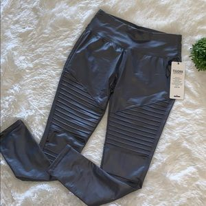 Moto Faux Leather Leggings
